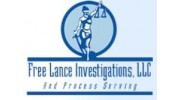 FREE LANCE INVESTIGATIONS & PROCESS SERVING