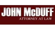 John McDuff, Attorney at Law