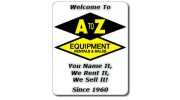 A To Z Equipment Rental