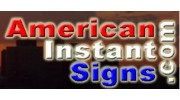 American Instant Sign