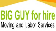 BIG GUY For Hire Moving And Labor Services