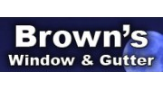 Brown's Gutter & Window