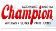Champion Windows Siding Patio