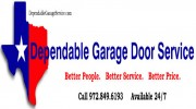 Dependable Garage Door Service Dallas, TX