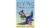 Diving Swallow Tattoo