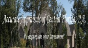 Accurate Appraisals Of Central Florida, PA