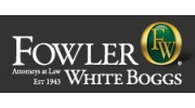 Fowler White Boggs PA