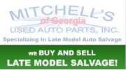 Mitchell's Used Auto Parts Inc: Yard 2 - Conyers