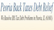 Peoria Back Tax Debt Relief