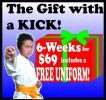 6-Week Introductory Special with FREE Uniform!