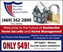 $49 for a Digital Touch Screen Security System Completely Installed!