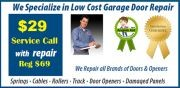 $29 Service Call, Save $40