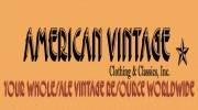 American Vintage Clothing & Classics