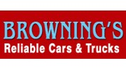 Brownings Reliable Cars