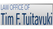 Law Offices Of Tim F Tuitavuki